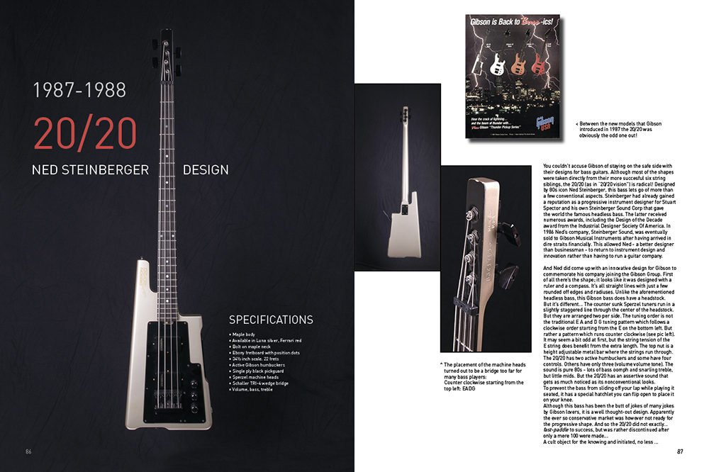 Gibson Bass Book, Page 86-87