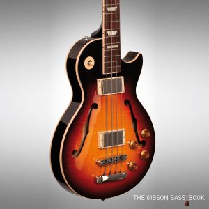 2015 Gibson ES Les Paul Bass, Memphis, The Gibson Bass Book