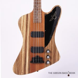 Zebrawood Thunderbird, The Gibson Bass Book