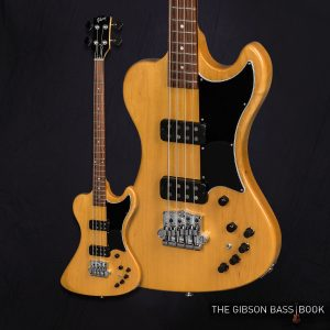 2018 RD Artist, The Gibson Bass Book, Gibson bass