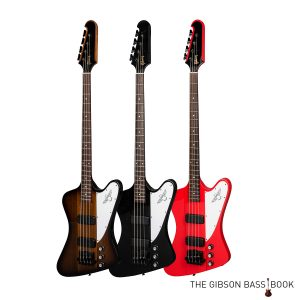 2018 thunderbirds, The Gibson Bass Book, Gibson bass