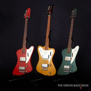 Three vintage Thunderbirds, The Gibson Bass Book