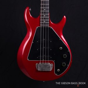 Gibson G3, The Gibson Bass Book, Rob van den Broek, Candy Apple Red