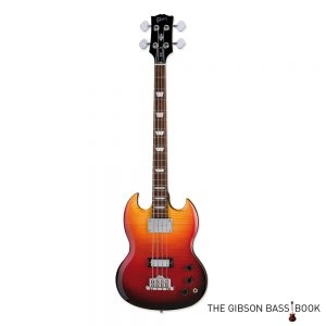 2007 Gibson SG Supreme Fireburst, The Gibson Bass Book