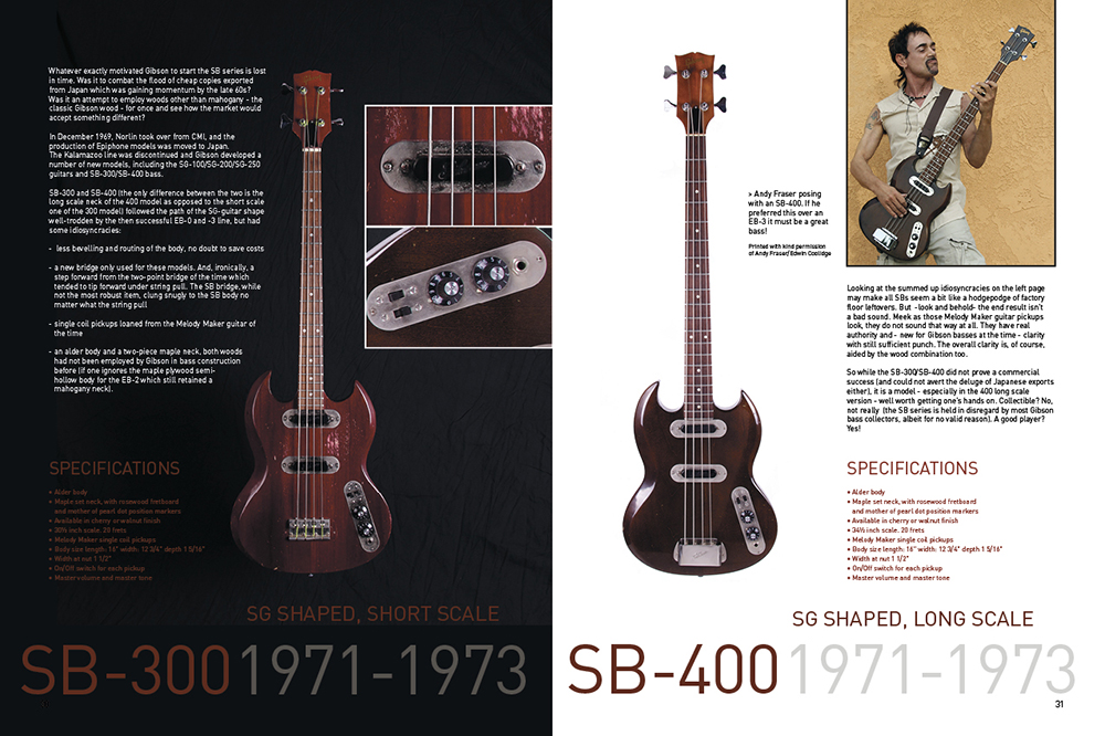 Gibson Bass Book, Page 30-31
