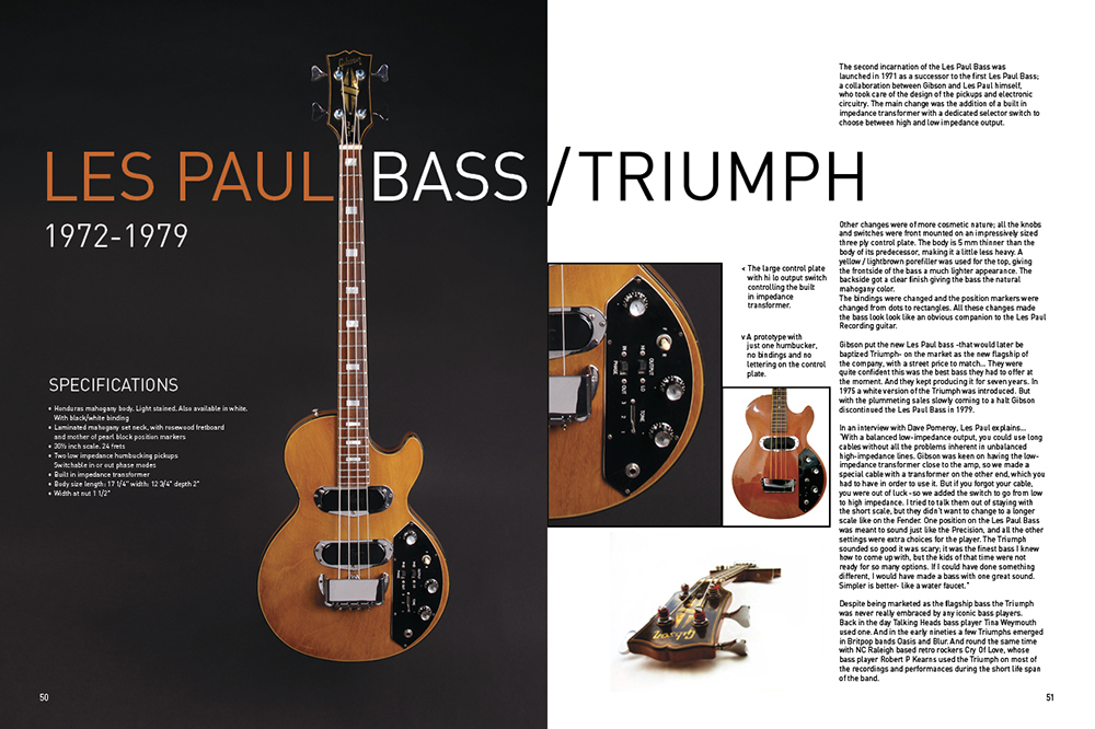 Gibson Bass Book, Page 50-51