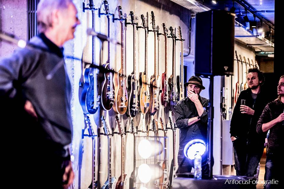 The Gibson Bass Book, book release party, Rinus Gerritsen
