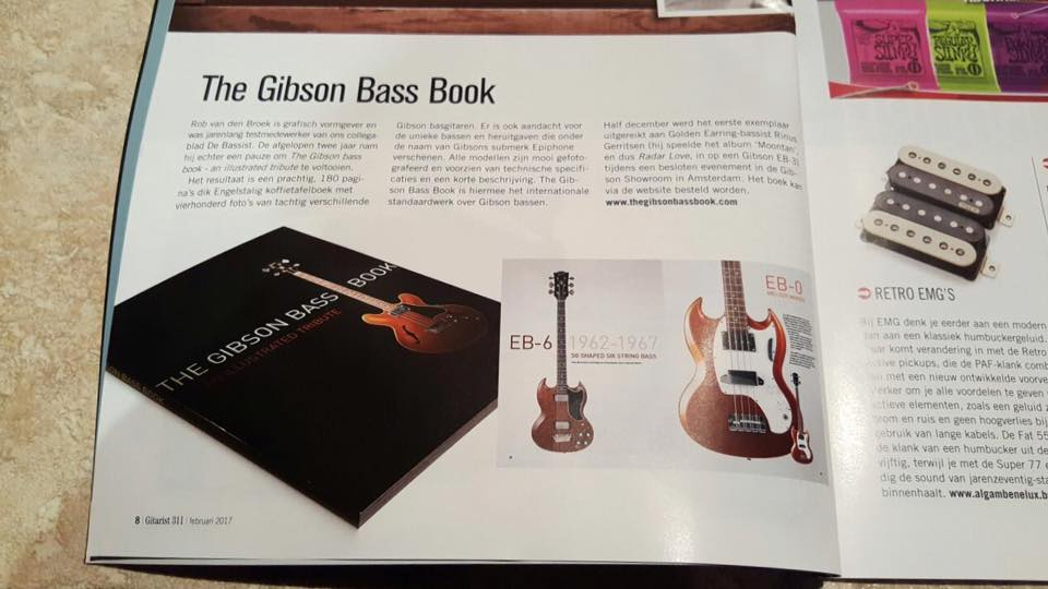Press, Music Maker review, The Gibson bass Book