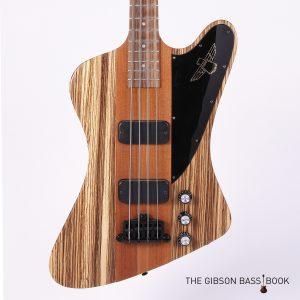 Zebrawood Thunderbird, The Gibson Bass Book
