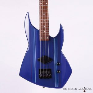 1987 WCB Prototype, The Gibson Bass Book, Rob van den Broek