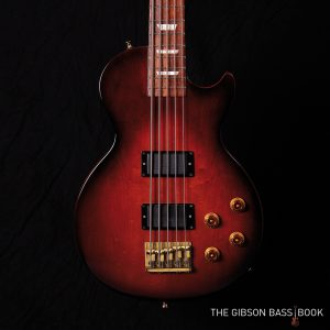 1995 Gibson LPB-2/5, five string Les Paul Bass, Gibson Bass Book, Bartolini pickups, Rob van den Broek
