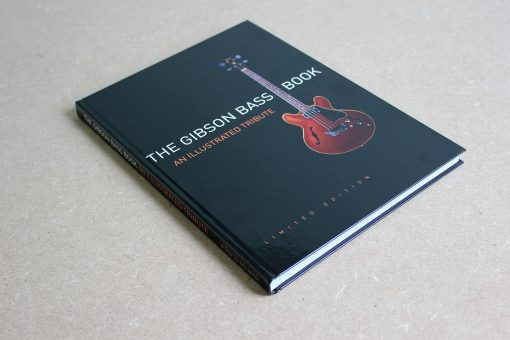The Gibson Bass Book hard cover