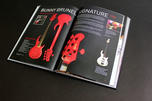 Spread about Bunny Brunel Signature Bass in The Gibson Bass Book
