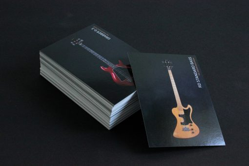stack of 100 gibson bass book postcards