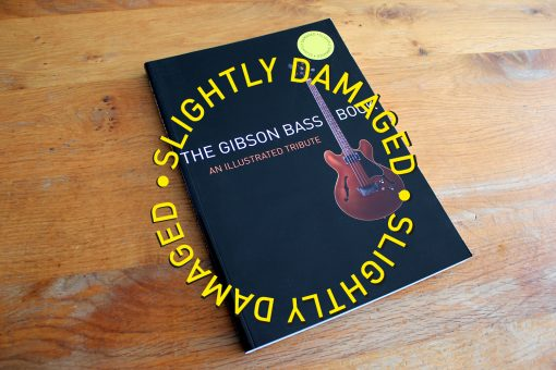 slightly damaged - gibson bass book