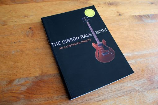 slightly damaged gibson bass book